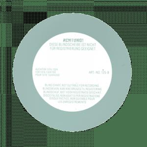 Disco cego de plástico